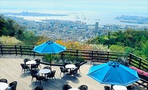 神戸のラグジュアリーなカフェ